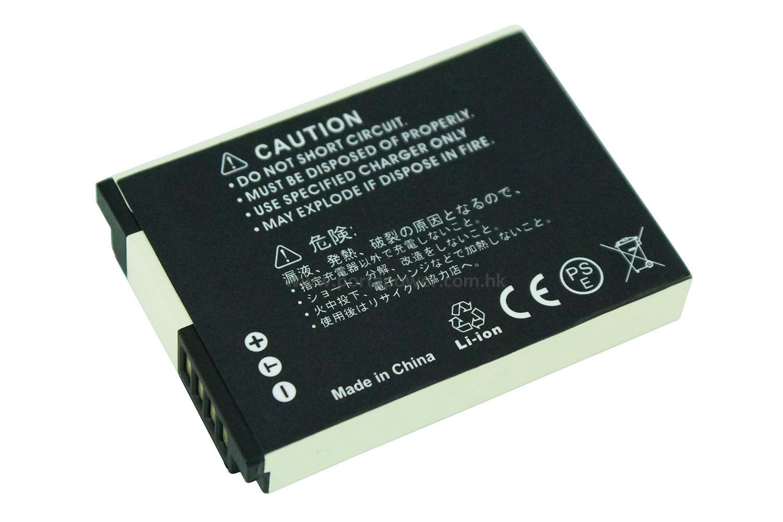 Cámara digital batería para Samsung ex1 st5000 st5500 slb-11ep 3,80v 980mah negro